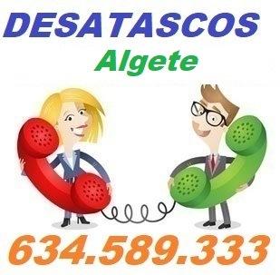 Telefono de la empresa desatascos Algete